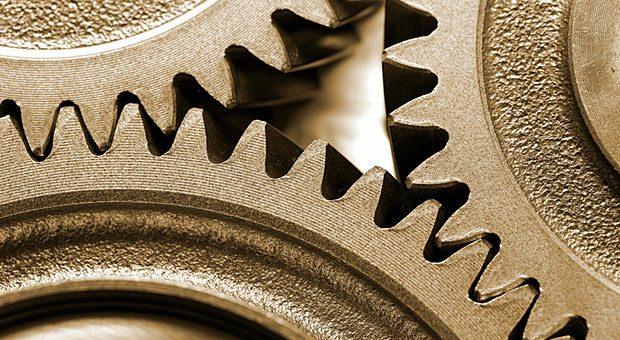 Damit Abläufe in einer Firma ineinandergreifen wie die Zähne in einem Zahnrad, ist meist Prozessoptimierung nötig.