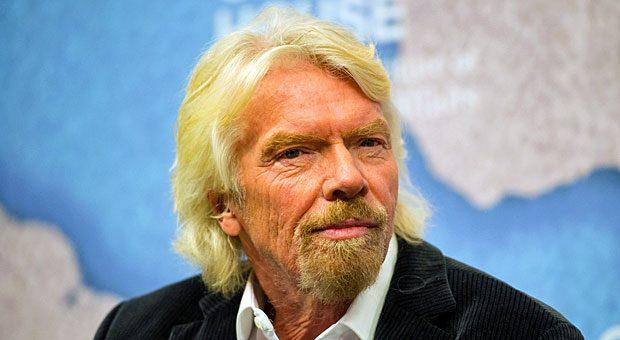 """Selfmade-Milliardär mit Stehvermögen: """"Nur weil andere nicht von Anfang an an deine Ideen glauben, heißt das nicht, dass sie wertlos sind"""", sagt Richard Branson."""