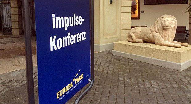 """Drinnen gibt's Impulse - bei der Konferenz """"Erfolgsfaktor Kunde!""""."""
