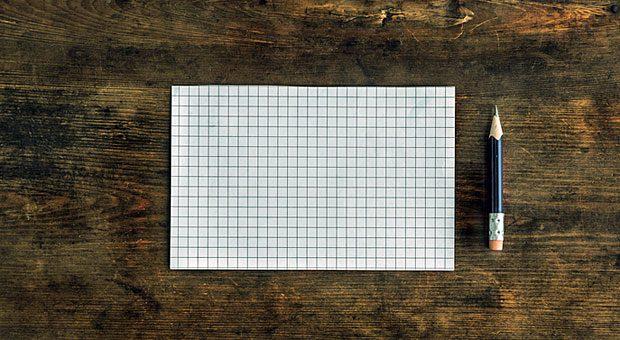 Zettel und Stift - mehr brauchen Sie nicht, um Probleme mit Hilfe des A3-Reports zu analysieren und Lösungsansätze zu entwickeln.