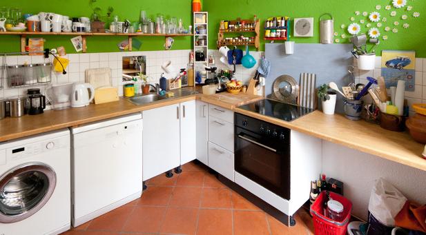 Vorsicht beim Weg zur Küche im Home Office. Die Küche selbst und der Weg dorthin zählen nicht zum Arbeitsplatz, sondern zum persönlichen Lebensbereich.