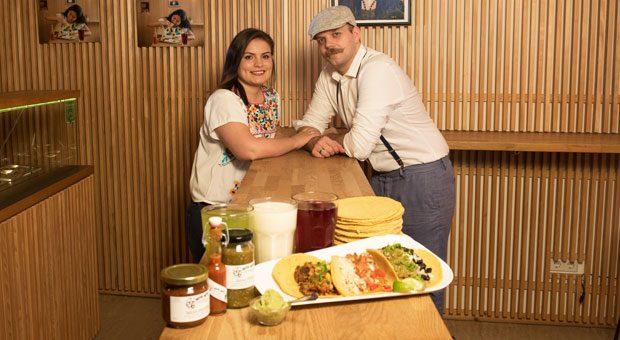 """Koch Robin Pfefferle führt das Restaurant """"Yepa Yepa"""" zusammen mit seiner mexikanischen Frau Silvia Barba Quezada."""