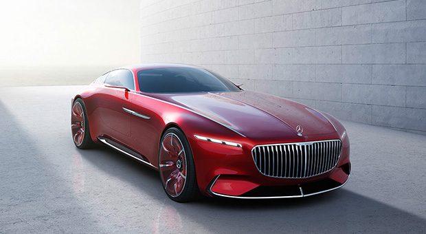 Ein Tesla-Killer? Die Daimler-Studie Mercedes Maybach 6 rast auch voll elektrisch.