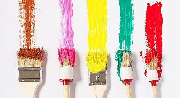Alles so schön bunt hier: Experten raten bei der Bürogestaltung zu mindestens drei Farben pro Raum.