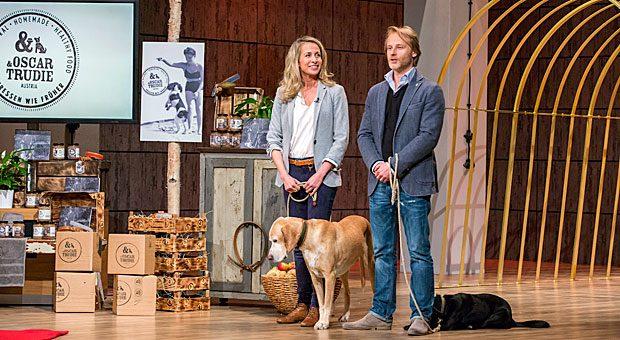 Stefanie Hofbauer und Thomas Steinbach von Oscar und Trudie