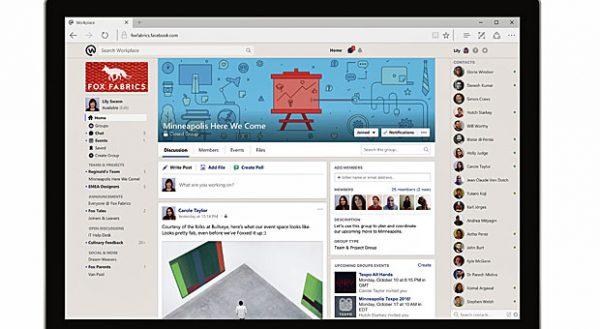 """Für Verbraucher von Facebook wird die Nutzung von """"workplace by facebook"""" ein Kinderspiel sein: Denn die Oberfläche ist gleich."""