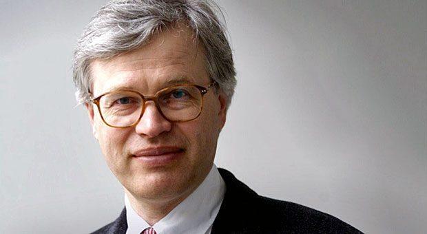 """""""Sehr glücklich und dankbar"""": Bengt Holmström erhält gemeinsam mit seinem Forscherkollegen Oliver Hart den Nobelpreis für Wirtschaftswissenschaften."""