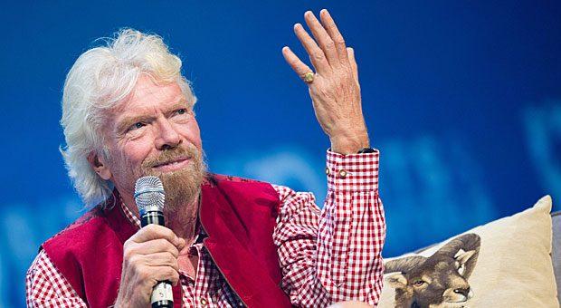Virgin-Gründer Richard Branson lässt sich von Zitaten berühmter Persönlichkeiten inspirieren - von Henry Ford über Coco Chanel bi hin zu Michael Jordan.