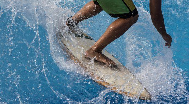 Immer das Gleichgewicht halten: Das gilt nicht nur für Surfer, sondern auch für Unternehmer, die die tägliche Informationsflut bewältigen müssen.