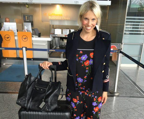 Kerstin Görling braucht keine Models, sie präsentiert ihre Mode einfach selbst. Ihren Instagram-Fans gefällt's.