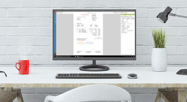 Dokumentenzentrische Vorschau mit interaktiven Dokumenten.