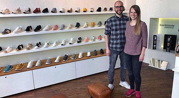 """2013 wagte Stefan Schrader den Sprung in die Selbstständigkeit. Darunter leidet sein Familienleben - und seine Frau Inga, die zugibt: """"Ich bin manchmal eifersüchtig auf Stefans Laden."""""""