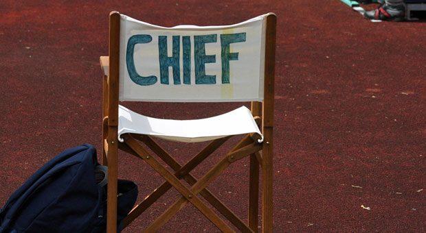 Erkennt man in einem Unternehmen sofort, wo der Chef sitzt und arbeitet, ohne dass es - wie auf diesem Bild - auf dem Chefsessel steht?