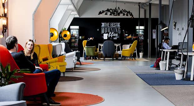 coole b ros was macht denn der gorilla im konferenzraum. Black Bedroom Furniture Sets. Home Design Ideas