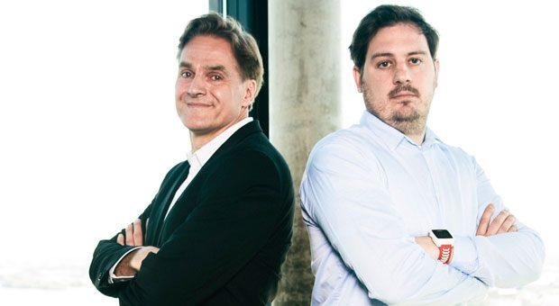 Boris Thomas und Constantin Eis