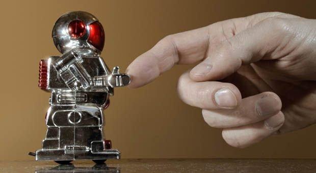 Mensch-Maschine-Kommunikation: Chatbots sollen im Internet Kunden helfen. Im Idealfall löst der digitale Assistent so kleinere Probleme ganz ohne menschliche Hilfe.