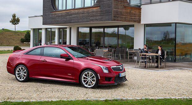 Hingucker: Das Coupé ATS-V ist aktuell der wohl eleganteste Cadillac.