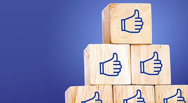 Gefällt mir! Social Recruiting nutzt soziale Netzwerke wie Facebook, um neue Mitarbeiter zu finden.