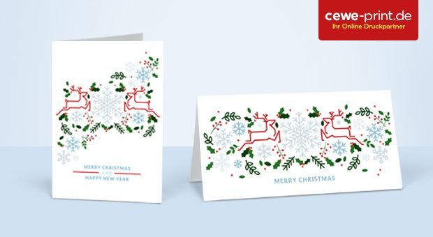 Cewe Weihnachtskarten.Und Plotzlich Ist Weihnachten Mit Weihnachtsgrussen Gutes