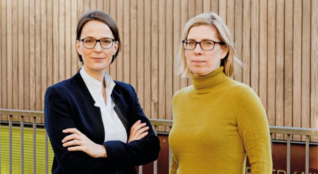Laura Blindow (links) und Antonia Götsch sind die neue Doppelspitze von impulse.