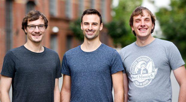 """Die Gründer von Vilisto haben gut lachen: Beim Businessplan-Wettbewerb """"Gründergeist 2018"""" belegten sie den ersten Platz und gewannen 6000 Euro."""