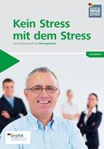 Kein Stress mit dem Stress Broschüre psyGA
