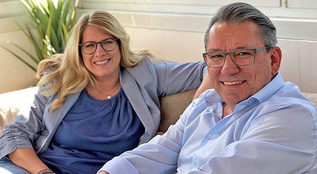 """Vanessa Weber über ihren neuen Vertriebsleiter Robert Waade: """"Jetzt habe ich einen Sparringspartner, mit dem ich täglich über anstehende Entscheidungen, aber auch die Strategie der Firma diskutieren kann."""""""