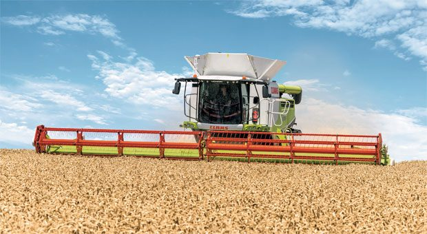Technisch ausgeklügelt: Die intelligent vernetzen Landmaschinen von Claas kommunizieren miteinander.