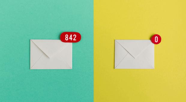In Ihrem digitalen Postfach stapeln sich mehrere hundert E-Mails? Dann sollten Sie die Methode Inbox Zero ausprobieren.