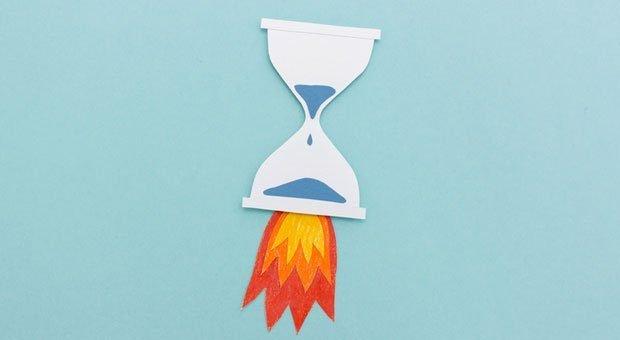 Einfach abheben: Strategisches Zeitmanagement ist für Firmenchefs der Schlüssel zum Erfolg.