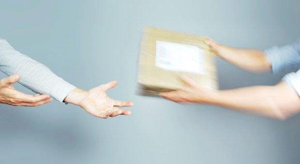 Bisher muss es bei der Warenzustellung oft schnell gehen - guter Service ist auf der letzten Meile zum Kunden ein Fremdwort.