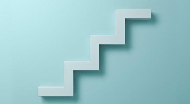 Stehen Sie als Chef noch auf Stufe eins oder haben Sie bereits das höchste Führungsniveau erreicht?