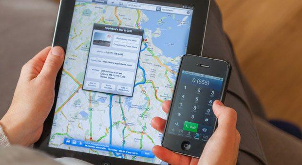 Das Branchenprofil in Google My Business wird direkt auf einer Landkarte angezeigt.