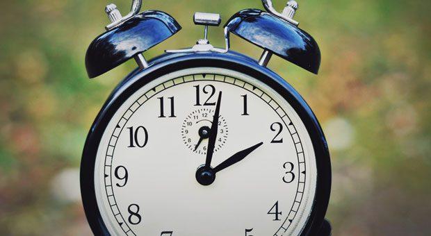 Zeit für Zeitumstellung: In der Nacht von 26. auf 27. Oktober werden die Uhren von drei auf zwei zurückgestellt.