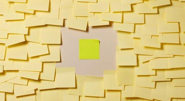 Verzetteln? Nix da! Wer seine Aufgabenverwaltung verbessert, kann sich aufs wirklich Wichtige fokussieren.