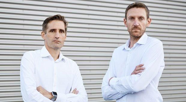 Die beiden Kontrahenten: Timo Sillober (links) und Jean-Baptiste Cornefert (rechts)  treten gegeneinander an.
