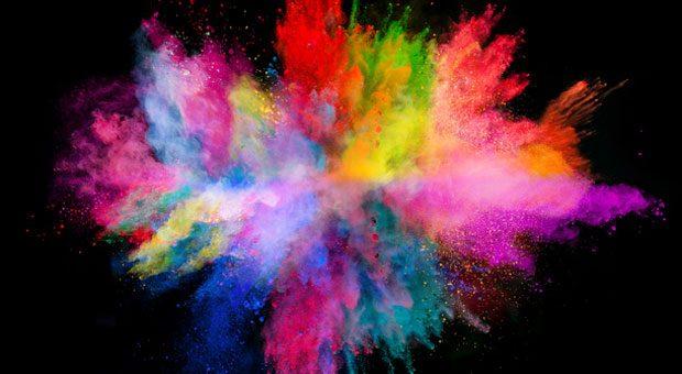 Hauptsache es knallt? Das stimmt nicht immer, Unternehmen sollten Farben mit Bedacht auswählen.