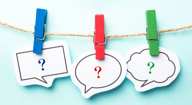 Mit Fragen kann man Konflikte lösen, weil sie das Problem hinter dem Problem aufdecken helfen.