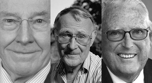 2018 sind viele bedeutende Unternehmer gestorben. Wir erinnern an einige von ihnen in unserer Galerie.