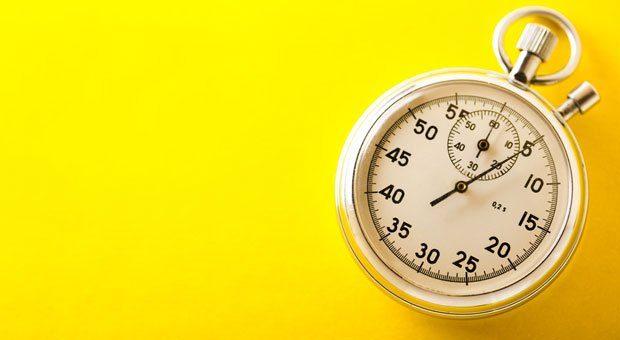 5, 4, 3, 2, 1, los: Die 5-Sekunden-Regel soll helfen, den inneren Schweinehund zu überwinden.