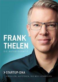 Buchcover: Frank Thelen Autobiografie Startup-DNA