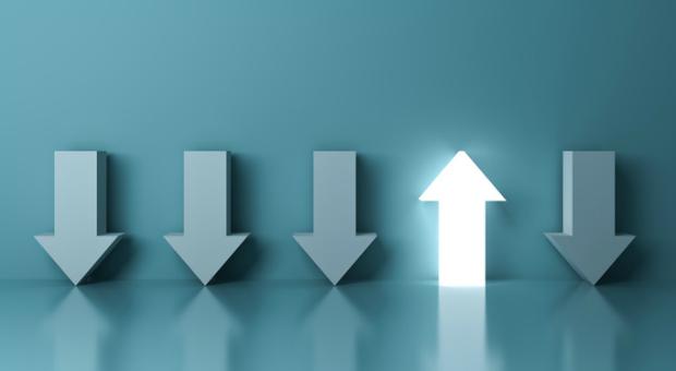 Auf dem Weg nach oben: Selbstwirksamkeit ist die Voraussetzung für Erfolg.