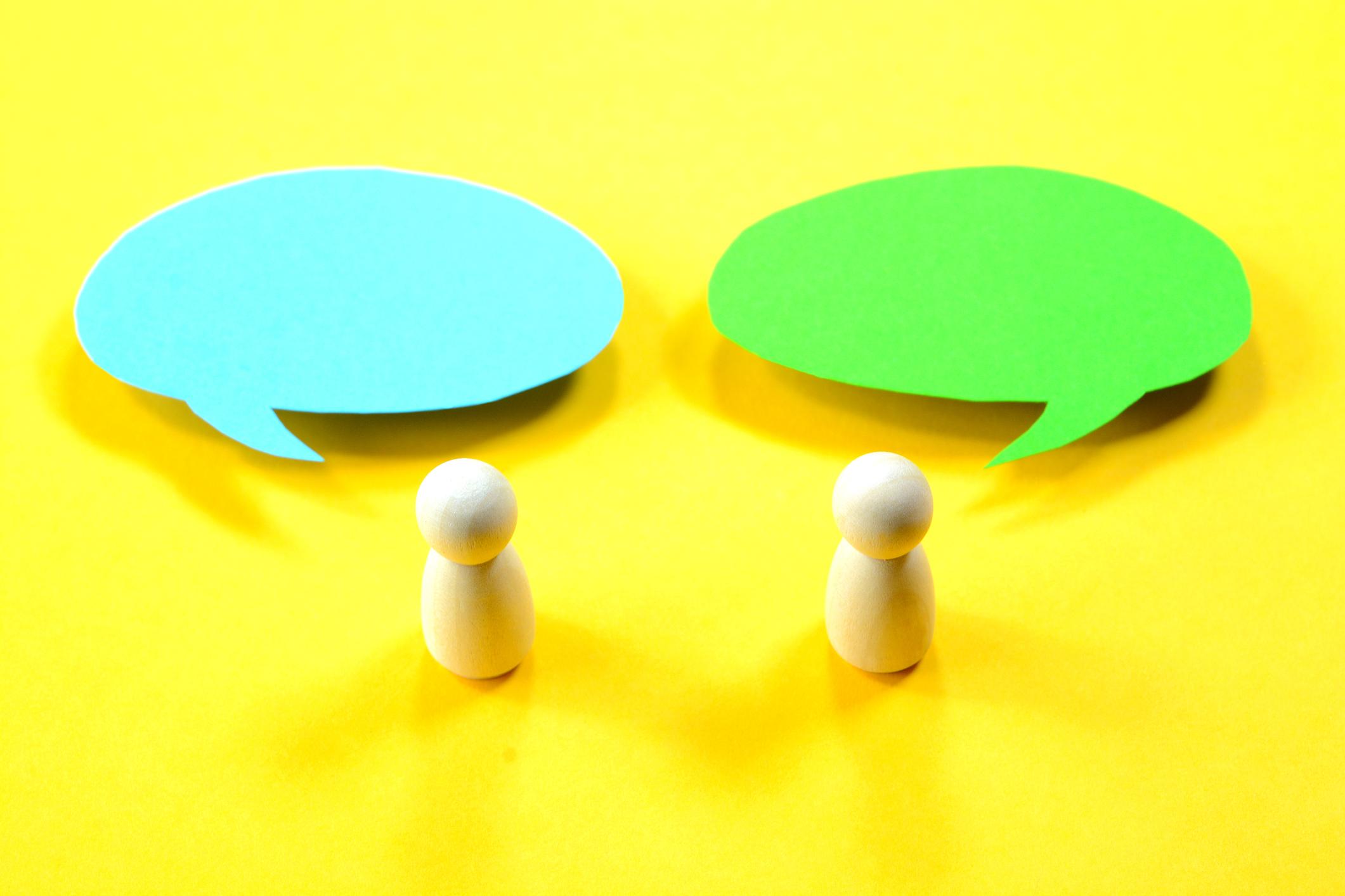 Manchmal ist es nicht einfach, Menschen von einer anderen Meinung zu überzeugen.