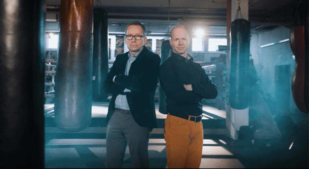 Ferdinand Linzenich (links) ist geschäftsführender Gesellschafter der Linzenich Gruppe, Keven England (rechts) einer der Gründer von Summfit.