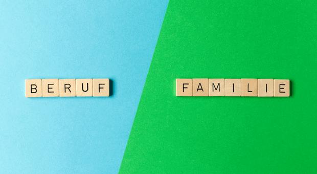 Die Balance zwischen Beruf und Familie ist bei Ihnen nicht so ausgeglichen wie auf dem Bild? Nicht schlimm!