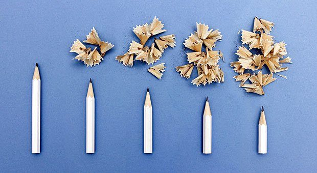 Bleistifte spitzen und loslegen: Mit der 6-3-5-Methode sammeln Sie in kurzer Zeit viele neue Ideen.