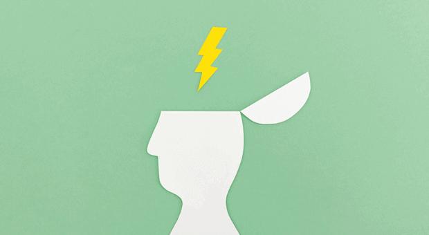 Was geht mir durch den Kopf? Mit der Blitzlicht-Methode machen Sie eine Momentaufnahme Ihrer Gedanken und Gefühle.