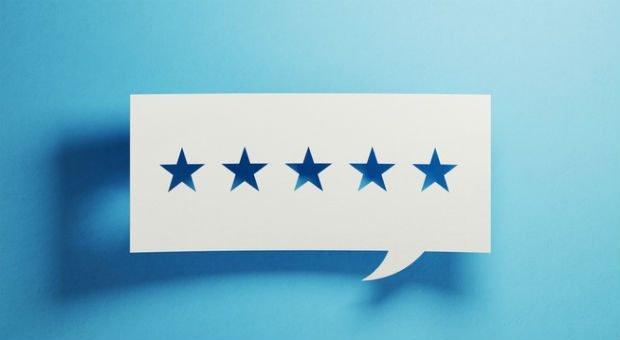 Fünf Sterne - super! Doch fallen Online-Bewertungen negativ aus, tun sich viele Unternehmer mit einer angemessenen Reaktion schwer.