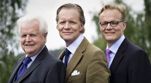 Familienunternehmer des Jahres 2019: Vater Kurt Stürken, Axel Stürken und Max Stürken (v.l.).
