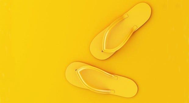 Rein in die Flip-Flops und die Arbeit im Urlaub mal Arbeit sein lassen? Sven Franzen geht einen anderen Weg.